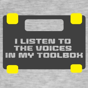 Mechaniker: I LIsten To The Voices In My Toolbox. - Männer Vintage T-Shirt
