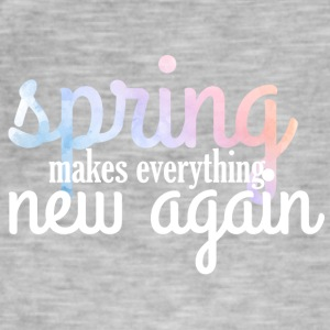 Spring Break / Springbreak: Spring Makes Everythin - Men's Vintage T-Shirt