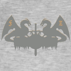 Dragons - Vintage-T-shirt herr