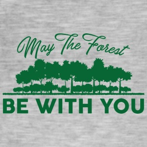 Earth Day / Dag: Kan The Forest Be With Y - Vintage-T-skjorte for menn