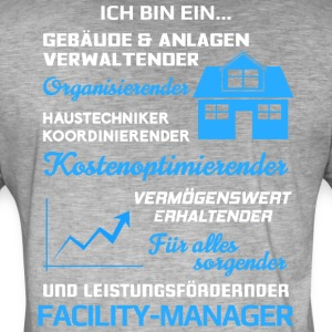 Facility-Manager/Facility-Management/Haustechniker - Männer Vintage T-Shirt