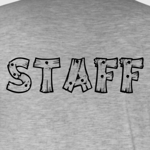 staff - Men's Vintage T-Shirt