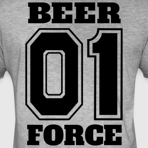 Beer Force 01 - Party Shirt - Vintage-T-shirt herr