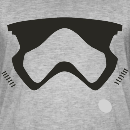 Modern Stormtrooper Face - Men's Vintage T-Shirt