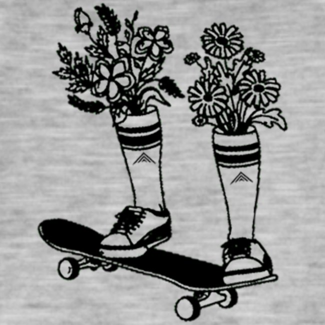 Skate Arrow Flowers