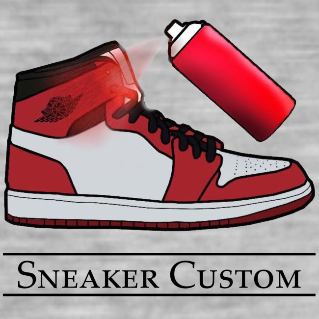 Sneaker Custom Merch /black text