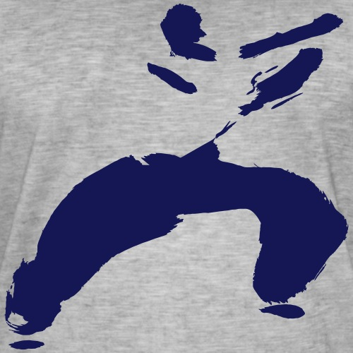 kung fu - Men's Vintage T-Shirt