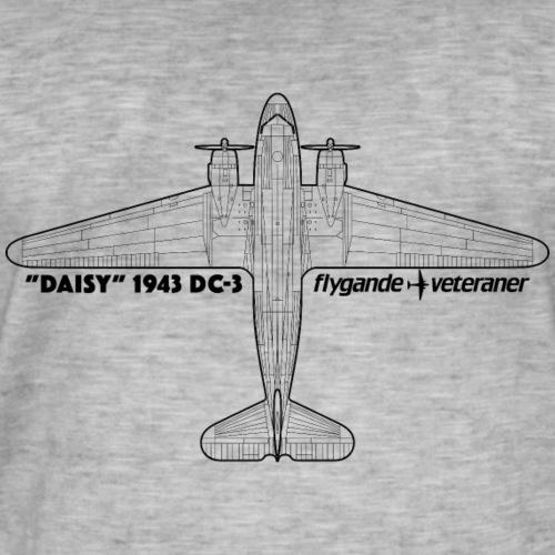 Daisy Blueprint Top 1 - Vintage-T-shirt herr