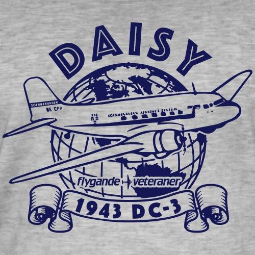 Daisy Globetrotter 1 - Vintage-T-shirt herr