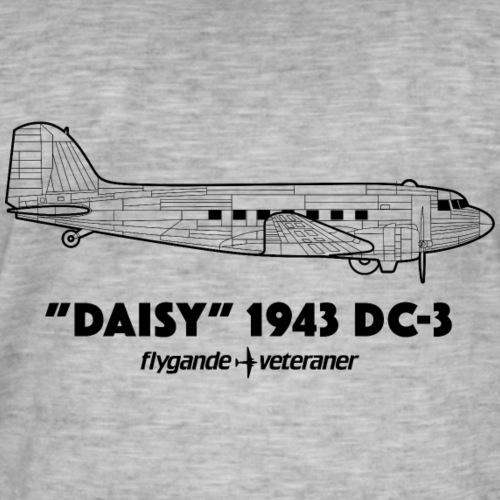 Daisy Blueprint Side 1 - Vintage-T-shirt herr