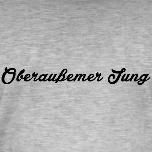Oberaußemer Jung - Männer Vintage T-Shirt