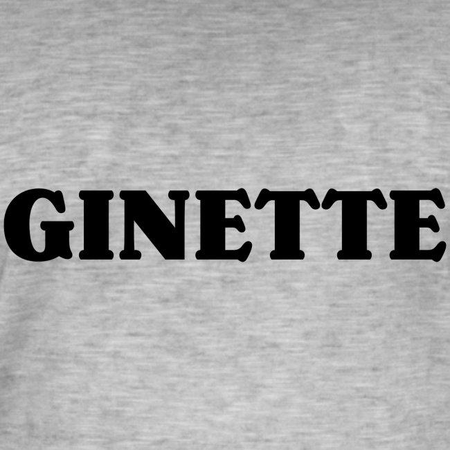 Ginette solo noir
