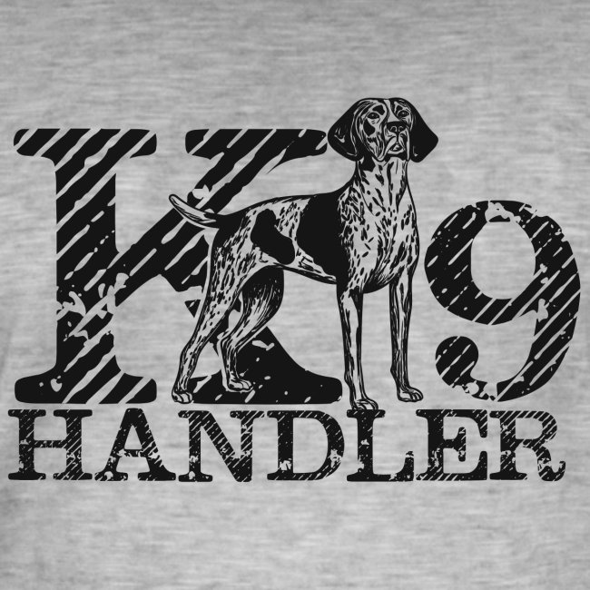 K-9 Handler - German Shorthaired Pointer