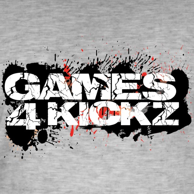 Games4Kickz Logo Splattered Background