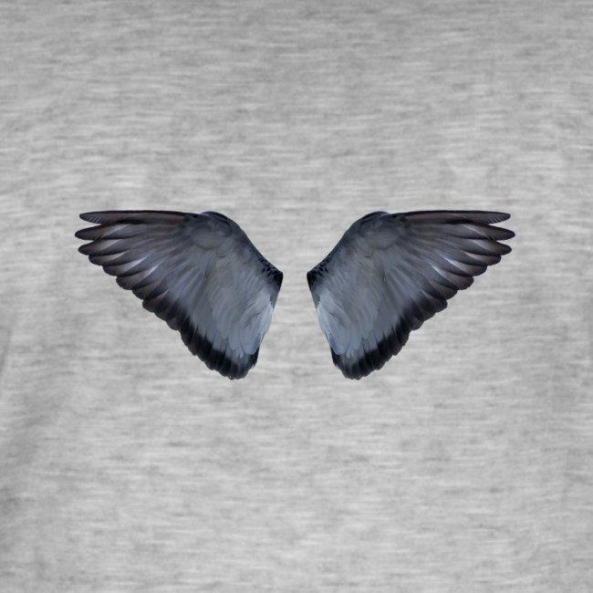 Blaue Flügel Slat
