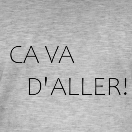 CA VA D'ALLER - T-shirt vintage Homme
