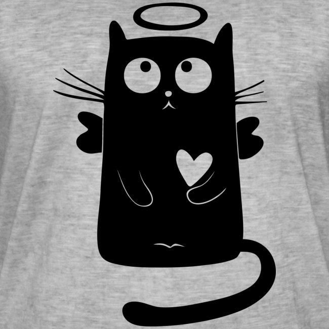 Gato angelical