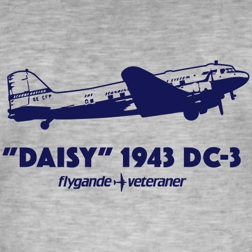 Daisy Flyby 1 - Vintage-T-shirt herr