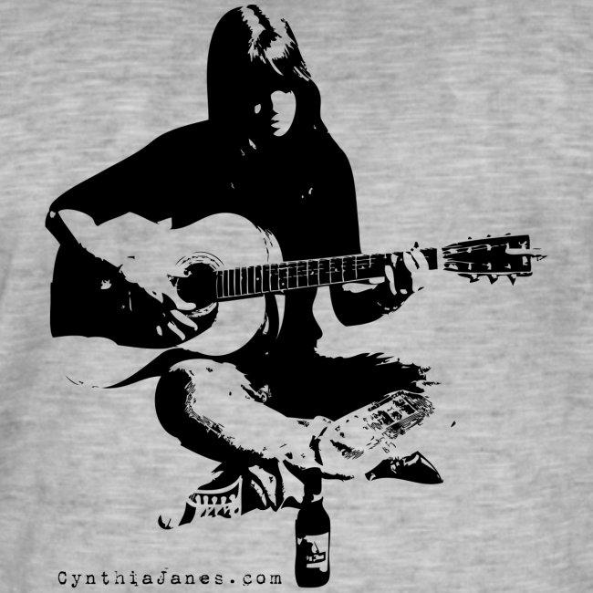 Cynthia Janes guitar BLACK
