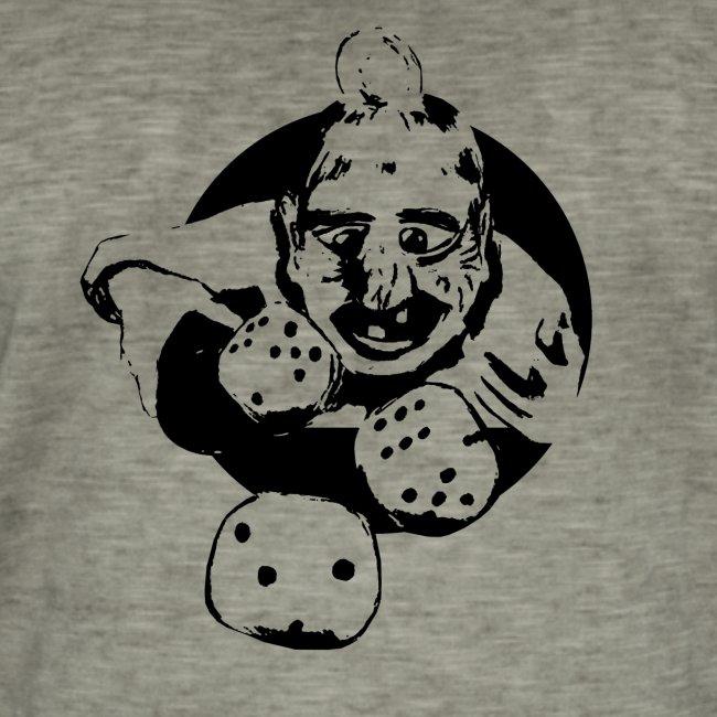 Professional Gambler (1c musta)