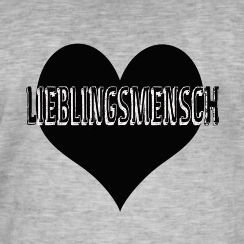 Liebling - Männer Vintage T-Shirt
