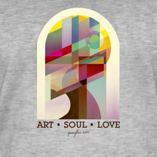 Farbenlehre - Männer Vintage T-Shirt