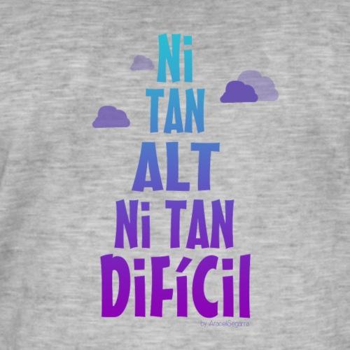 NI TAN ALT degradat - Camiseta vintage hombre