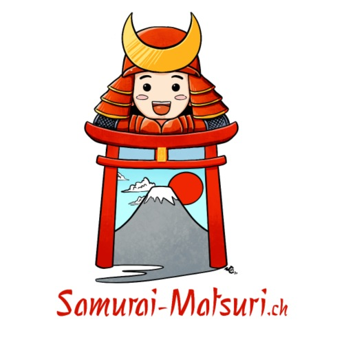 Samurai Matsuri Torii - Männer Vintage T-Shirt