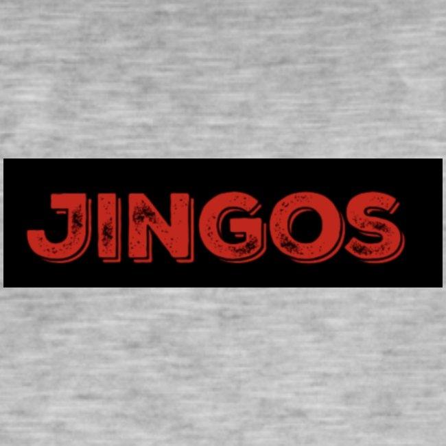 Jingos tee - Black on white