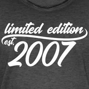 Limited Edition 2007 is - T-shirt vintage Homme