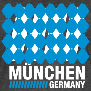 Munich, Bavaria, Germany - Men's Vintage T-Shirt