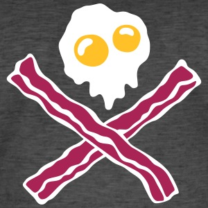 Eggs'n Bacon - Mannen Vintage T-shirt