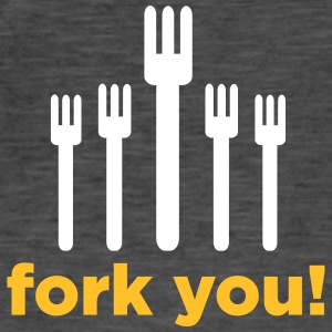 Fork You! - Men's Vintage T-Shirt