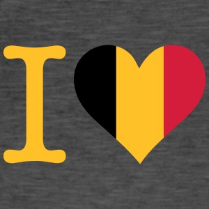 I Love Belgium - Men's Vintage T-Shirt