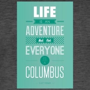 life is an adventure - Männer Vintage T-Shirt