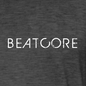 Beatcore shirt black - Men's Vintage T-Shirt