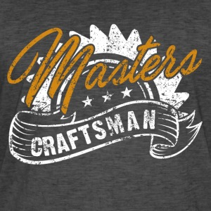 Masters Craftsman - Men's Vintage T-Shirt