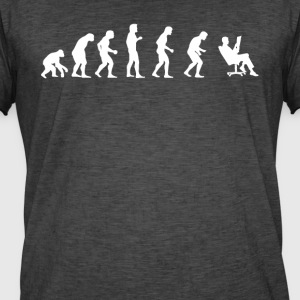 EVOLUTION INGENIEUR ARCHITEKT - Männer Vintage T-Shirt