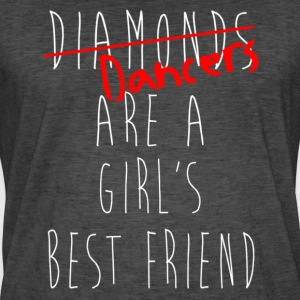 Dancers are a Girl`s Best Friend Shirt - Mambo NY - Männer Vintage T-Shirt