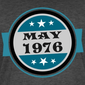 May1976 - Vintage-T-shirt herr