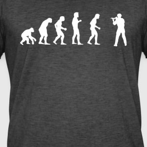 Human EVOLUTION SOLDIER - Men's Vintage T-Shirt