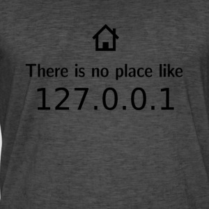 There is no place like - 127.0.0.1 - Men's Vintage T-Shirt