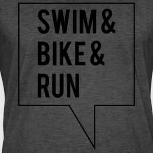 Swim Bike Run - Men's Vintage T-Shirt