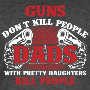 Father's daughter protect - Men's Vintage T-Shirt