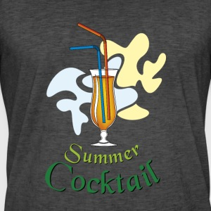 Summer cocktail - Men's Vintage T-Shirt