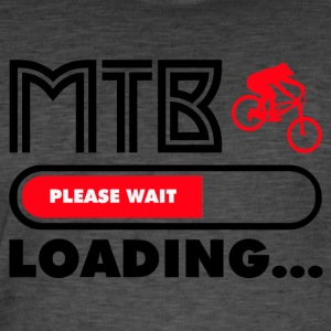 Get ready for MTB - Männer Vintage T-Shirt