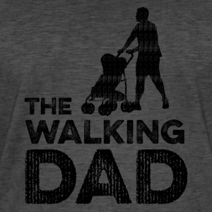 The Walking Dad - Männer Vintage T-Shirt