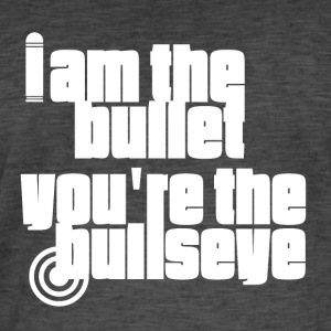 I am the Bullet - White - Men's Vintage T-Shirt