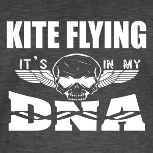 KITE FLYING - its in my DNA - Men's Vintage T-Shirt