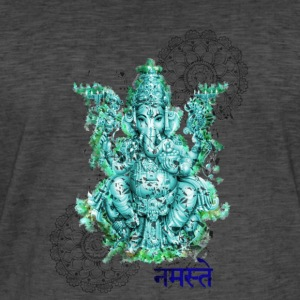 Ganesh for fortune - Männer Vintage T-Shirt